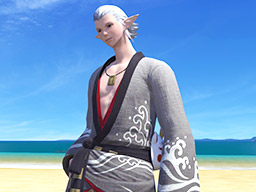 Final Fantasy XIV::Items : Grey Lord's Yukata