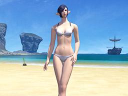 Final Fantasy XIV::Items : Women's Summer Morning Set