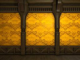 Final Fantasy XIV::Items : Three Golden Kasamatsu Interior Walls