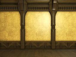 Final Fantasy XIV::Items : Three Gold Leaf Interior Walls