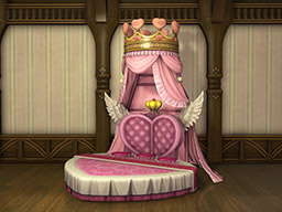 Final Fantasy XIV::Items : Authentic Paramour Bed