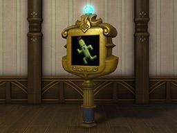 Final Fantasy XIV::Items : Authentic Senor Sabotender Trophy