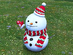 Final Fantasy XIV::Items : Jumbo Snowman
