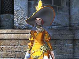 Final Fantasy XIV::Items : Pot of Metallic Orange Dye