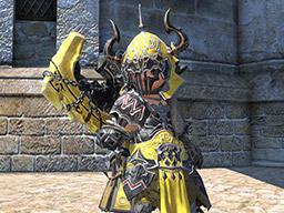 Final Fantasy XIV::Items : Pot of Metallic Yellow Dye