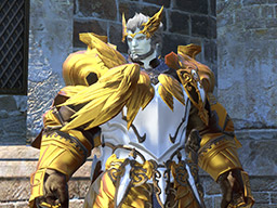 Final Fantasy XIV::Items : Pot of Metallic Gold Dye