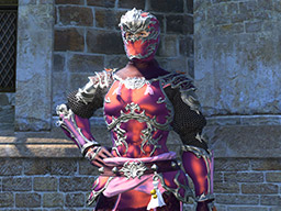 Final Fantasy XIV::Items : Pot of Metallic Red Dye