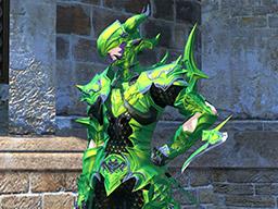 Final Fantasy XIV::Items : Ten Pots of Metallic Green Dye
