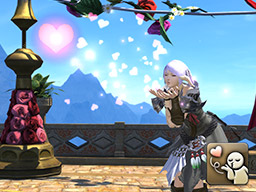 Final Fantasy XIV::Items : Emote: Dote