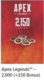 Apex Legends::Items : 2150 Coins