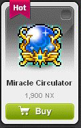 Maple Story::Items : Miracle Circulator