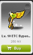 Maple Story::Items : Lv.10 ETC Bypass Key*20