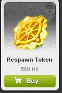 Maple Story::Items : Respawn Token*10