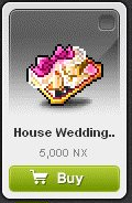 Maple Story::Items : House Wedding Ticket