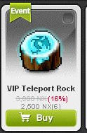 Maple Story::Items : VIP Teleport Rock*6