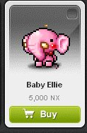 Maple Story::Items : Baby Ellie