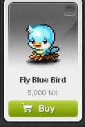 Maple Story::Items : Fly Blue Bird
