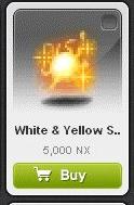 Maple Story::Items : White Yellow Seraphim