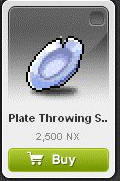 Maple Story::Items : Plate Throwing Star