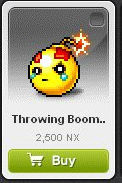 Maple Story::Items : Throwing Boomers