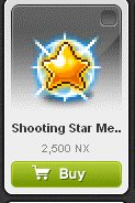 Maple Story::Items : Shooting Star Medal