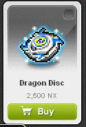 Maple Story::Items : Dragon Disc