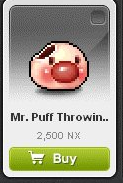 Maple Story::Items : Mr.Puff Throwing Star