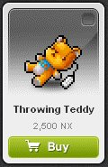 Maple Story::Items : Throwing Teddy