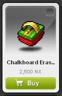 Maple Story::Items : Chalkboard Eraser