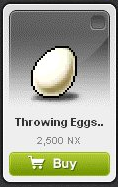 Maple Story::Items : Throwing Eggs Weapon