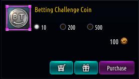 Kritika REBOOT::Items : Betting Challenge Coin*100