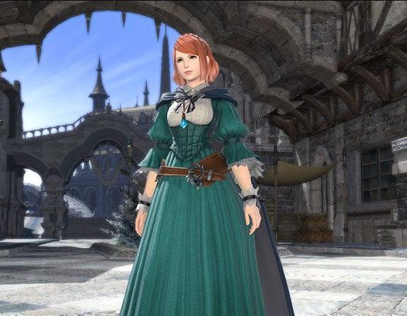 Final Fantasy XIV::Items : Alma's Attire