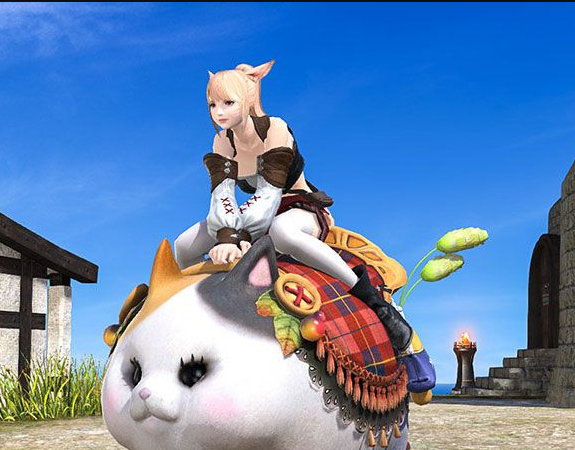 Final Fantasy XIV::Items : Mount: Fatter Cat (Account-wide)