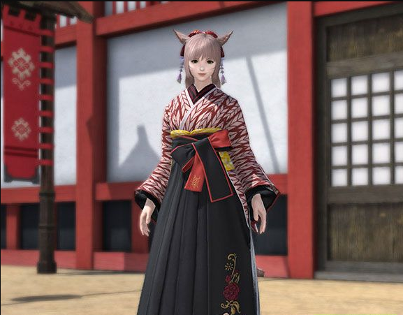 Final Fantasy XIV::Items : Far Eastern Schoolgirl's Uniform