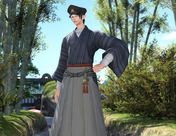 Final Fantasy XIV::Items : Far Eastern Schoolboy's Uniform