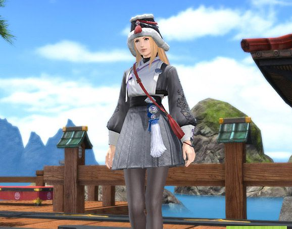 Final Fantasy XIV::Items : Far Eastern Maiden's Attire