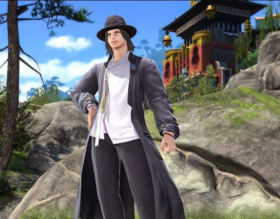 Final Fantasy XIV::Items : Far Eastern Officer's Uniform