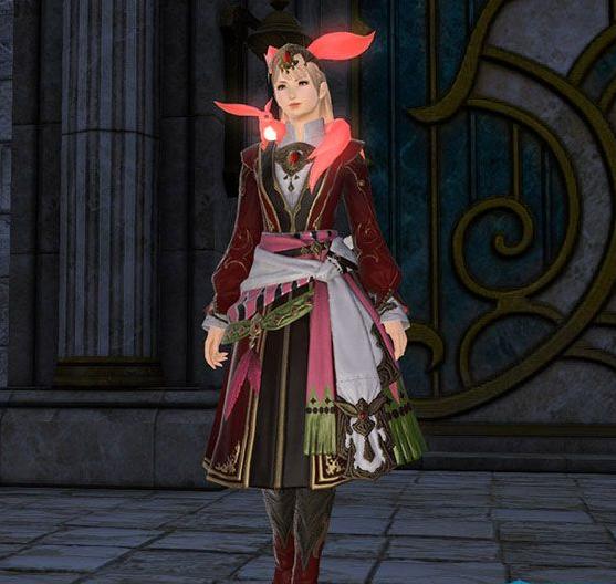 Final Fantasy XIV::Items : Ruby Carbuncle Attire