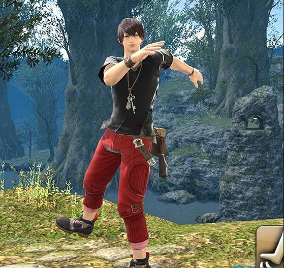 Final Fantasy XIV::Items : Emote: Heel Toe