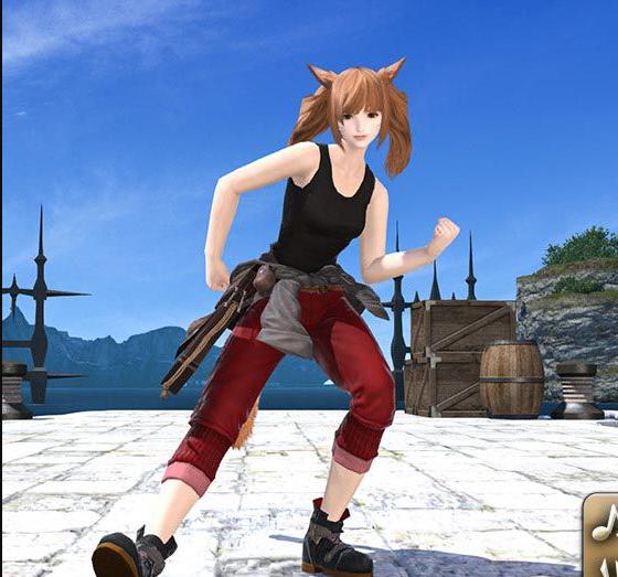 Final Fantasy XIV::Items : Emote: Goobbue Do