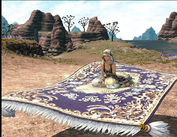 Final Fantasy XIV::Items : Mount: Magicked Carpet (Account-wide)