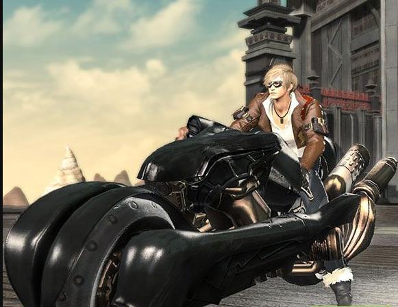 Final Fantasy XIV::Items : Mount: SDS Fenrir (Account-wide)