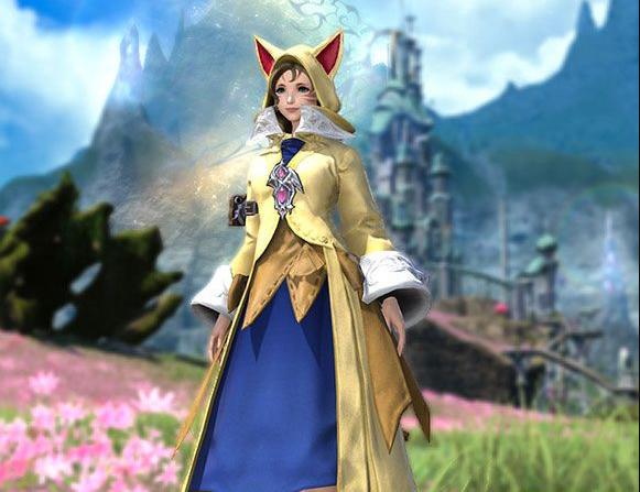 Final Fantasy XIV::Items :  Krile's Attire