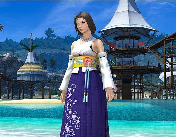 Final Fantasy XIV::Items : High Summoner's Attire