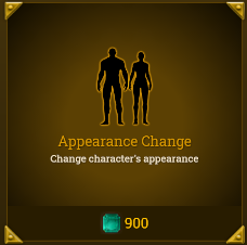 Legends of Aria::Items : Appearance Change