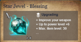 Runes Of Magic::Items : Star Jewel-Blessing*5
