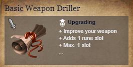 Runes Of Magic::Items : Basic Weapon Driller*5