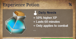 Runes Of Magic::Items : Experience Potion*5