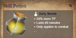 Runes Of Magic::Items : Skill Potion*5