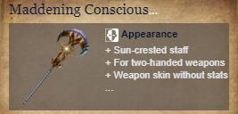 Runes Of Magic::Items : Maddening Conscious